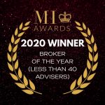 MI AWARDS WINNER 2020 - BROKER OF THE YEAR LESS THAN 40 ADVISERS
